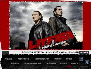 Sito Ufficiale Litfiba Reunion 2010