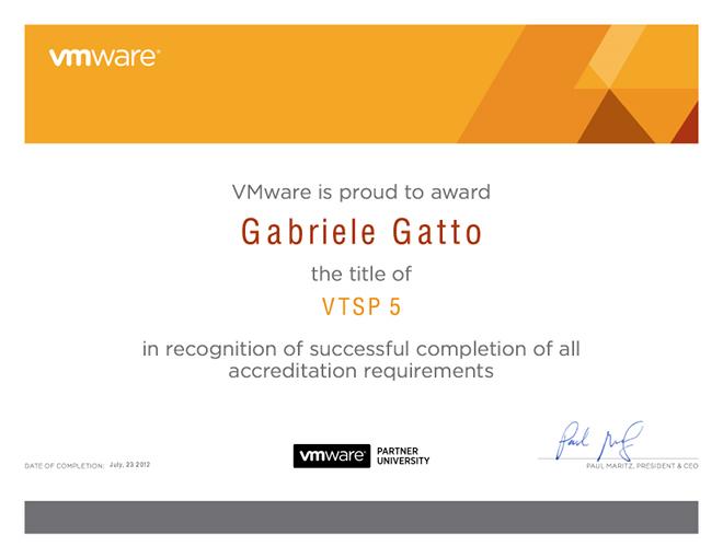 certificateVTSP5