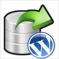 WordPress Full Backup via Server